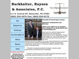 Burkhalter, Rayson & Associates, P.C. (Knoxville, Tennessee)