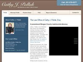 Law Offices of Cathy J. Pollak (Bergen Co., New Jersey)