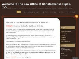 Law Office of Christopher M. Rigoli, P.A. (Bradenton, Florida)