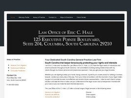 Law Office of Eric C. Hale, LLC (Columbia, South Carolina)