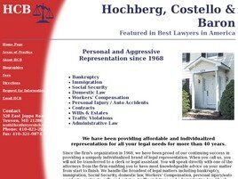 Law Office of Hochberg, Costello & Baron (Annapolis, Maryland)