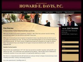 Law Office of Howard E. Davis P.C. (Bexar Co., Texas)