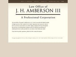 Law Office of J. H. Amberson III P.C. (San Antonio, Texas)