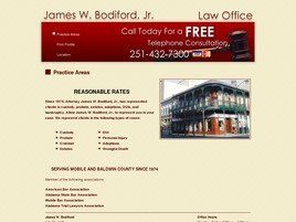 Law Office of James W. Bodiford, Jr. (Mobile, Alabama)