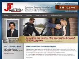 Law Office of John Tello (Bakersfield, California)