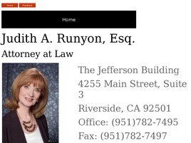 Law Office of Judith A. Runyon (Riverside, California)