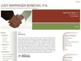Law Office of Judy Barringer Bonevac, P.A. (Fort Lauderdale, Florida)
