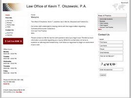 Law Office of Kevin T. Olszewski, P.A. (Bel Air, Maryland)