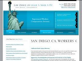 Law Office of Leslie S. Shaw, A P.C. (San Diego Co., California)