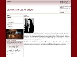 The Law Office of Lisa M. Wayne (Denver, Colorado)