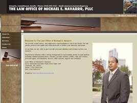 Law Office of Michael E. Navarro (Gastonia, North Carolina)