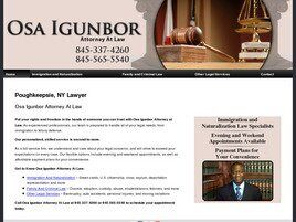 Osa Igunbor Attorney at Law (Poughkeepsie, New York)