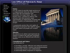 Law Office of Patricia S. Rose (Seattle, Washington)