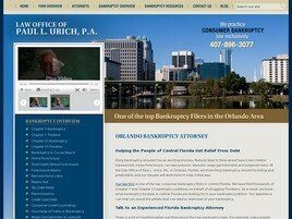 Law Office of Paul L. Urich, P.A. (Orlando, Florida)