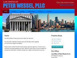 Law Office of Peter Wessel, PLLC (New York, New York)