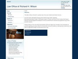Law Office of Richard H. Wilson (San Jose, California)