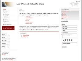 Law Office of Robert G. Clark (Abilene, Texas)