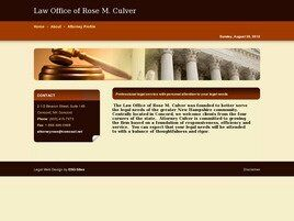 Law Office of Rose M. Culver (Concord, New Hampshire)
