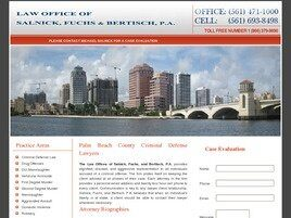 Law Office of Salnick, Fuchs & Bertisch, P.A. (West Palm Beach, Florida)