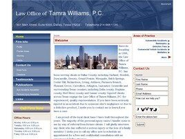 Law Office of Tamra Williams, P.C. (Dallas, Texas)