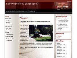Law Offices of A. Lavar Taylor (Orange Co., California)