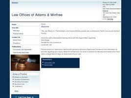 Law Offices of Adams & Winfree (Winston-Salem, North Carolina)