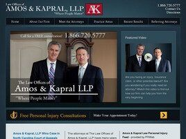 Law Offices of Amos & Kapral, LLP (Asheville, North Carolina)