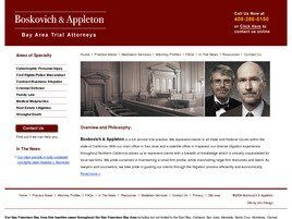 Law Offices of Anthony Boskovich (San Jose, California)