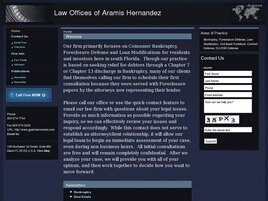 Law Offices of Aramis Hernandez (Miami, Florida)