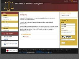 Law Offices of Arthur C. Evangelista (San Bernardino, California)