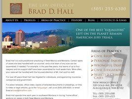 The Law Offices of Brad D. Hall (Albuquerque, New Mexico)