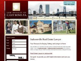 Law Offices of C. Guy Bond, P.A. (Jacksonville, Florida)