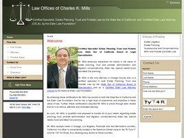 Law Offices of Charles K. Mills (Orange Co., California)
