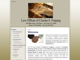 Law Offices of Charles S. Forgang (New York, New York)