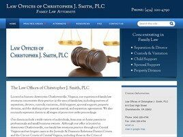Law Offices of Christopher J. Smith, PC (Staunton, Virginia)