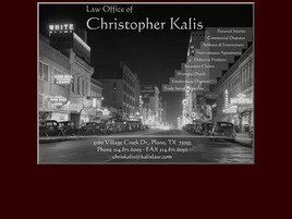 Law Offices of Christopher Kalis (Plano, Texas)