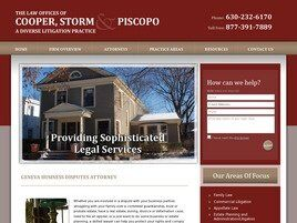 Law Offices of Cooper Storm & Piscopo (Kane Co., Illinois)