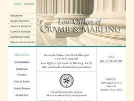 Law Offices of Cramb & Marling, L.L.P. (North Richland Hills, Texas)
