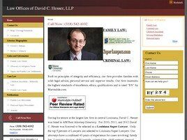 Law Offices of David C. Hesser, L.L.P. (Lafayette, Louisiana)