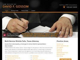 Law Offices of David F. Gossom (Denton, Texas)