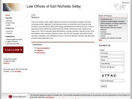 Law Offices of Earl Nicholas Selby (San Francisco, California)
