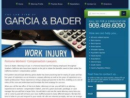 The Law Firm of Garcia & Bader (San Bernardino Co., California)