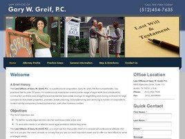 Law Offices of Gary W. Greif, P.C. (Austin, Texas)
