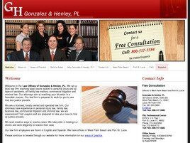 Law Offices of Gonzalez & Henley, P.L. (West Palm Beach, Florida)