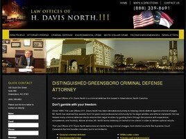 Law Offices of H. Davis North, III (Greensboro, North Carolina)