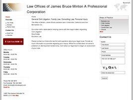 Law Offices of James Bruce Minton A Professional Corporation (Victorville, California)