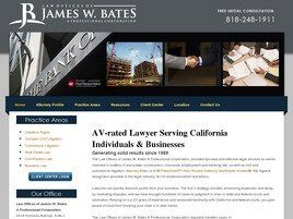 Law Offices of James W. Bates A Professional Corporation (Los Angeles Co., California)