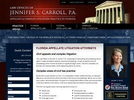 Law Offices of Jennifer S. Carroll, P.A. (Palm Beach Co., Florida)