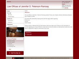 Law Offices of Jennifer S. Peterson-Ramsey (Canton, Michigan)