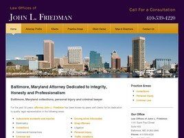Law Offices of John L. Friedman (Baltimore, Maryland)